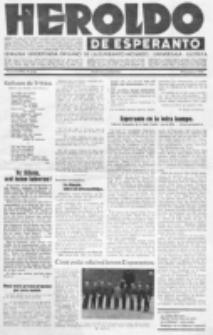 Heroldo de Esperanto : neŭtrale organo la Esperanto-modavo. Jarkolekto 14 (1933), nr 4=709 (29 januaro)