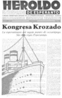 Heroldo de Esperanto : neŭtrale organo la Esperanto-modavo. Jarkolekto 16 (1935), nr 23=832 (9 junio)