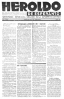 Heroldo de Esperanto : neŭtrale organo la Esperanto-modavo. Jarkolekto 22 (1946), nr 3=1052 (1 julio)