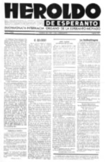 Heroldo de Esperanto : neŭtrale organo la Esperanto-modavo. Jarkolekto 23 (1947), nr 7=1066 (1 aprilo)