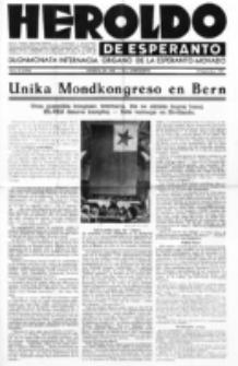 Heroldo de Esperanto : neŭtrale organo la Esperanto-modavo. Jarkolekto 23 (1947), nr 15=1074 (15 septembro)