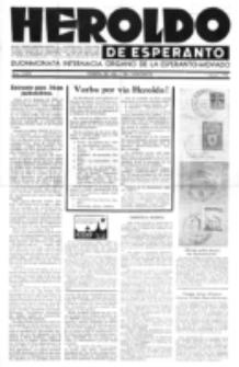 Heroldo de Esperanto : neŭtrale organo la Esperanto-modavo. Jarkolekto 24 (1948), nr 1=1079 (1 januaro)