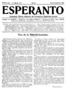 Esperanto : revuo internacia : oficiala organo de Universala Esperanto Asocio. Jaro 28, no 8/9=384/385 (Aŭgusto/Septembro 1932)