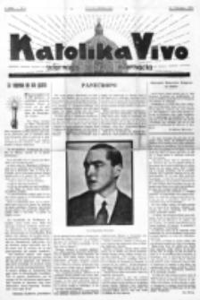 Katolika Vivo : informiga gazeto internacia. 1 Jaro (1931), no 4 (15 Februaro)