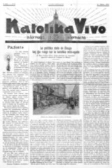 Katolika Vivo : informiga gazeto internacia. 1 Jaro (1931), no 6 (15 Marto)