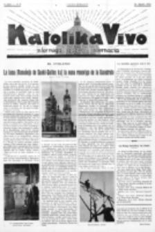 Katolika Vivo : informiga gazeto internacia. 1 Jaro (1931), no 9 (26 Aprilo)