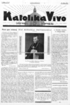 Katolika Vivo : informiga gazeto internacia. 1 Jaro (1931), no 10 (10 Majo)