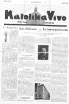 Katolika Vivo : informiga gazeto internacia. 1 Jaro (1931), no 14 (5 Julio)