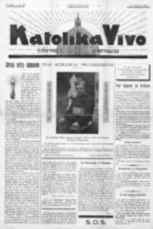 Katolika Vivo : informiga gazeto internacia. 2 Jaro (1932), no 25 (31 Januaro)
