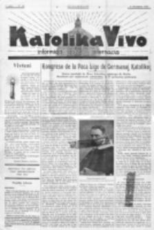 Katolika Vivo : informiga gazeto internacia. 1 Jaro (1931), no 24 (6 Decembro)
