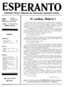 Esperanto : revuo internacia : oficiala organo de Universala Esperanto Asocio. Jaro 30, No 7=407 (Julio 1934)