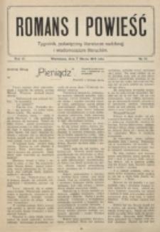 Romans i Powieść. R. 6, nr 10 (7 marca 1914)