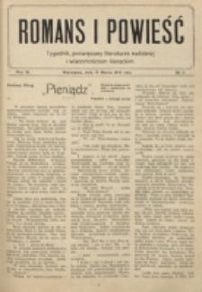 Romans i Powieść. R. 6, nr 11 (14 marca 1914)