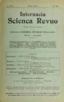 Internacia Scienca Revuo : monata organo en Esperanto. Jaro 4, no. 39 (1907)