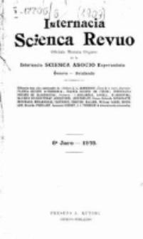 Internacia Scienca Revuo : monata organo en Esperanto. Jaro 6, no. 61 (1909)