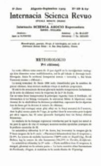 Internacia Scienca Revuo : monata organo en Esperanto. Jaro 6, no. 68/69 (1909)