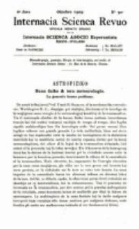Internacia Scienca Revuo : monata organo en Esperanto. Jaro 6, no. 70 (1909)