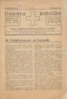 Flandra Katoliko : maandschrift van het Katholiek Vlaamsch Esperanto Verbond : monata revuo de la Flandra Unuiĝo de Katolikaj Esperantistoj. Jg 7=12, nr 2 (Februari 1946)