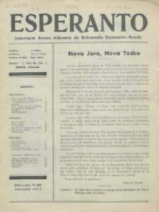 Esperanto : revuo internacia : oficiala organo de Universala Esperanto Asocio. Jaro 29, no 1=389 (Januaro 1933)