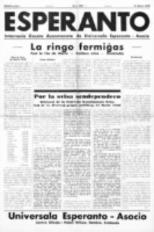 Esperanto : revuo internacia : oficiala organo de Universala Esperanto Asocio. Jaro 34, no 460 (31 Marto 1938)