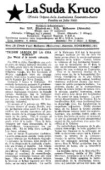 La Suda Kruco : oficiala organo de la Aŭstralazia Esperanto-Asocio. Nro. 136 (Novembro 1931)