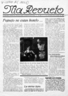 Mia Revueto : aldono por la junularo esperantista. No 5 (1932)