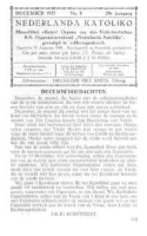 Nederlanda Katoliko. Jg. 20, no. 8 (1935)