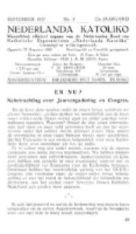 Nederlanda Katoliko. Jg. 22, no. 5 (1937)