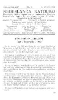 Nederlanda Katoliko. Jg. 22, no. 4 (1937)