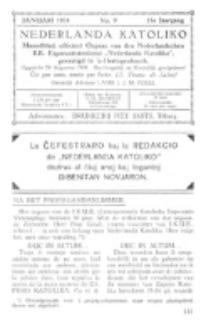 Nederlanda Katoliko. Jg. 18, no. 9 (1934)