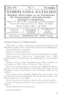 Nederlanda Katoliko. Jg. 19, no. 3 (1934)