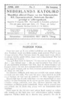 Nederlanda Katoliko. Jg. 20, no 2 (1935)