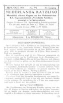 Nederlanda Katoliko. Jg. 16, no. 5/6 (Sept./Oct. 1931)