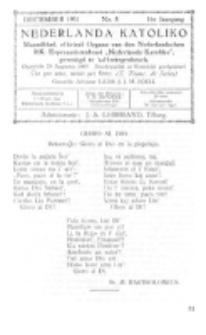 Nederlanda Katoliko. Jg. 16, no. 8 (December 1931)