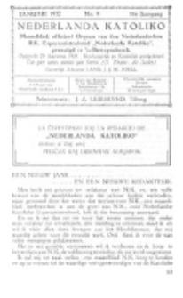 Nederlanda Katoliko. Jg. 16, no. 9 (Januari 1932)