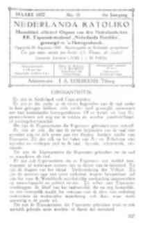 Nederlanda Katoliko. Jg. 16, no. 11 (Maart 1932)