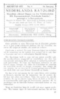 Nederlanda Katoliko. Jg. 17, no. 4 (Augustus 1932)
