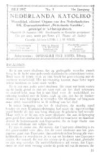 Nederlanda Katoliko. Jg. 17, no. 3 (Juli 1932)