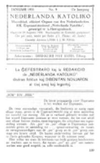 Nederlanda Katoliko. Jg. 17, no. 9 (Januari 1933)