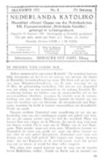 Nederlanda Katoliko. Jg. 17, no. 8 (December 1932)