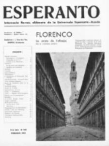 Esperanto : revuo internacia : oficiala organo de Universala Esperanto Asocio. Jaro 31, no 2=414 (Februaro 1935)