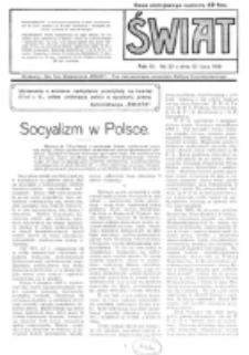 Świat : pismo tygodniowe ilustrowane poświęcone życiu społecznemu, literaturze i sztuce. R. 11 (1916), nr 29 (15 lipca 1916)