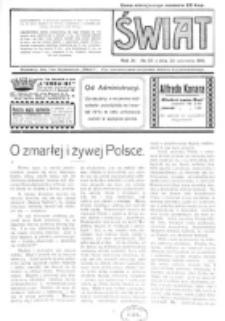 Świat : pismo tygodniowe ilustrowane poświęcone życiu społecznemu, literaturze i sztuce. R. 11 (1916), nr 39 (23 września)