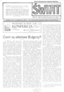 Świat : pismo tygodniowe ilustrowane poświęcone życiu społecznemu, literaturze i sztuce. R. 11 (1916), nr 42 (14 października)