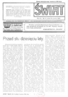 Świat : pismo tygodniowe ilustrowane poświęcone życiu społecznemu, literaturze i sztuce. R. 11 (1916), nr 51 (16 grudnia)