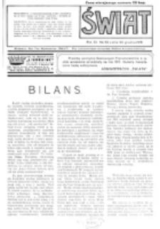 Świat : pismo tygodniowe ilustrowane poświęcone życiu społecznemu, literaturze i sztuce. R. 11 (1916), nr 53 (30 grudnia)