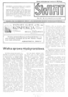 Świat : pismo tygodniowe ilustrowane poświęcone życiu społecznemu, literaturze i sztuce. R. 11 (1916), nr 52 (23 grudnia)