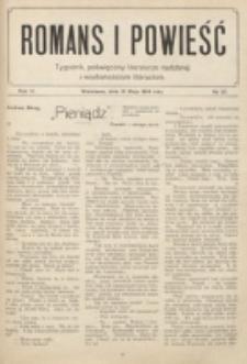Romans i Powieść. R. 6, nr 20 (16 maja 1914)
