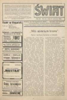 Świat : pismo tygodniowe ilustrowane poświęcone życiu społecznemu, literaturze i sztuce. R. 9 (1914), nr 23 (6 czerwca)