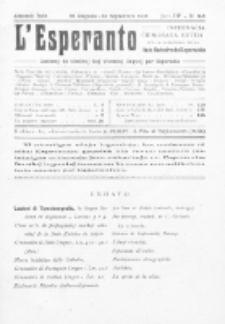 L'Esperanto : lecionoj de klasikaj kaj vivantaj lingvoj per Esperanto. Jaro 3, N 8/9 (1915)